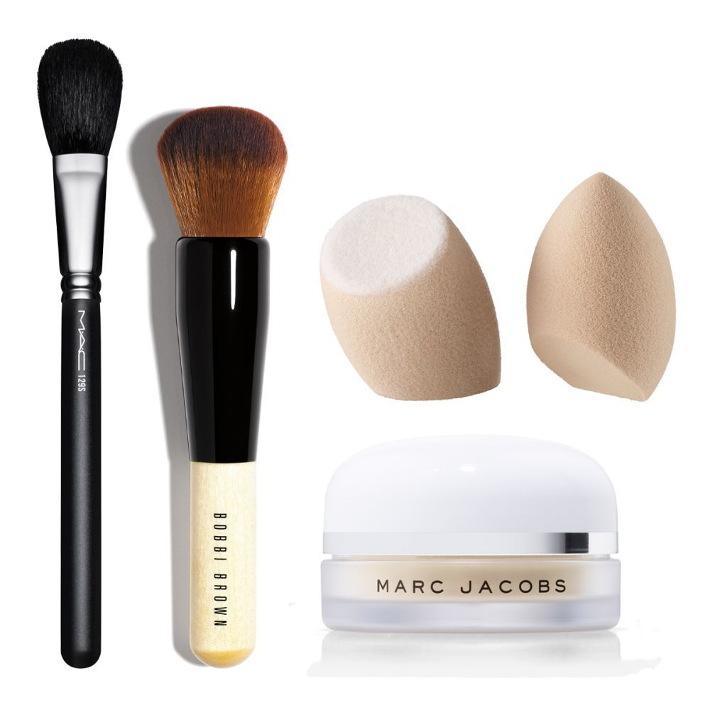 Full Coverage Face Brush (48,50 euros) de Bobbi Brown; Synthetic Brush...