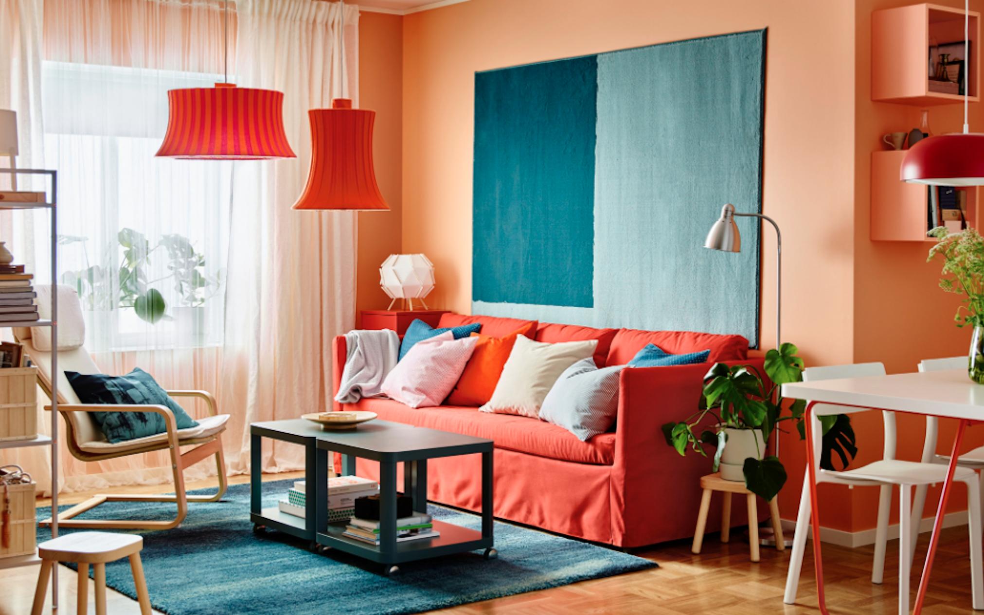 Living coral cinco formas de decorar tu casa con el color for Programa para decorar tu casa