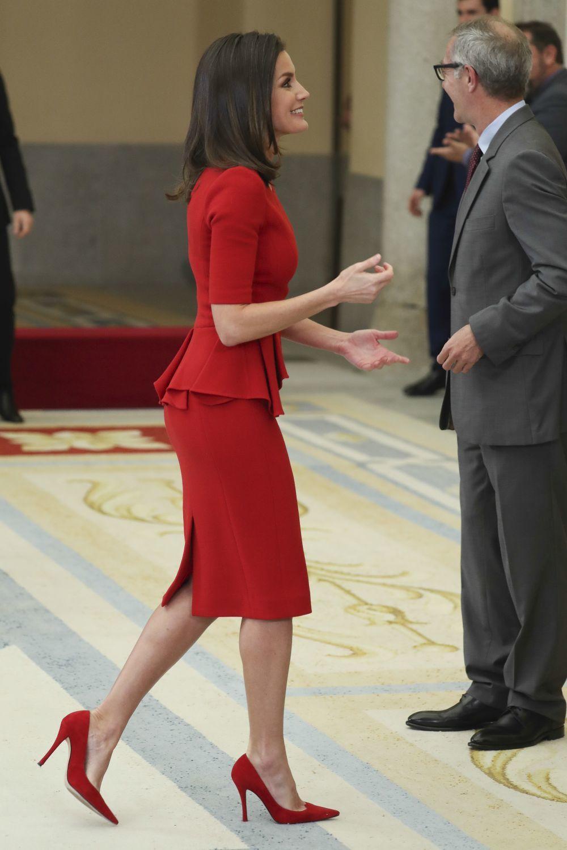 El último look de la Reina Letizia.