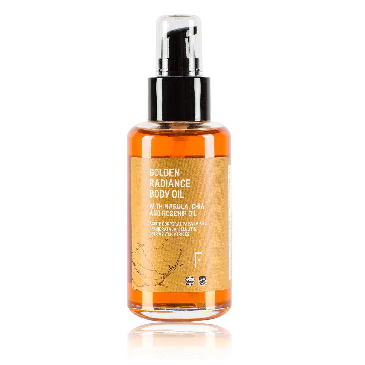 Golden Radiance Body Oil, Freshly Cosmetics.