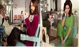 Jared Leto y Lana del rey en el anuncio de la fragancia Gucci Guilty
