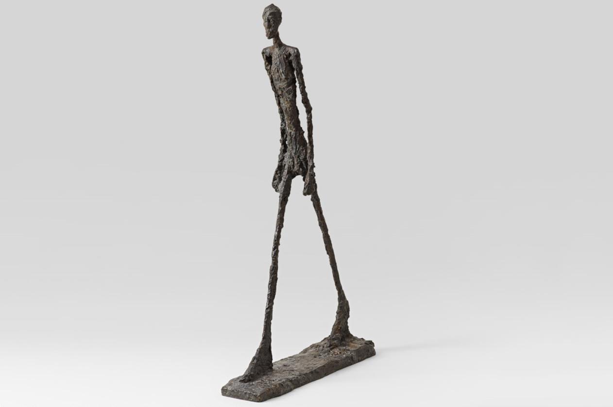 Hombre que camina II, 1960