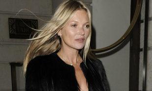Kate Moss celebrando su 45 cumpleaños.