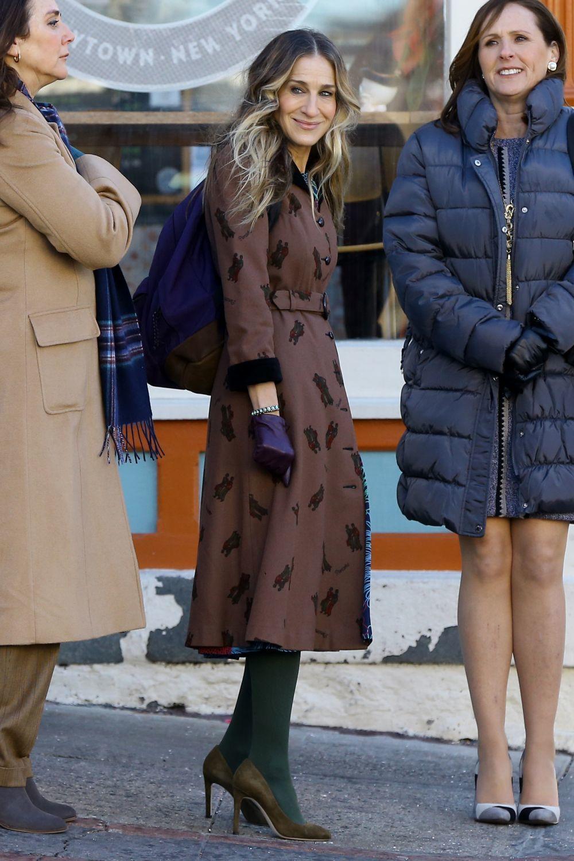 Sarah Jessica Parker en la tercera temporada de Divorce.
