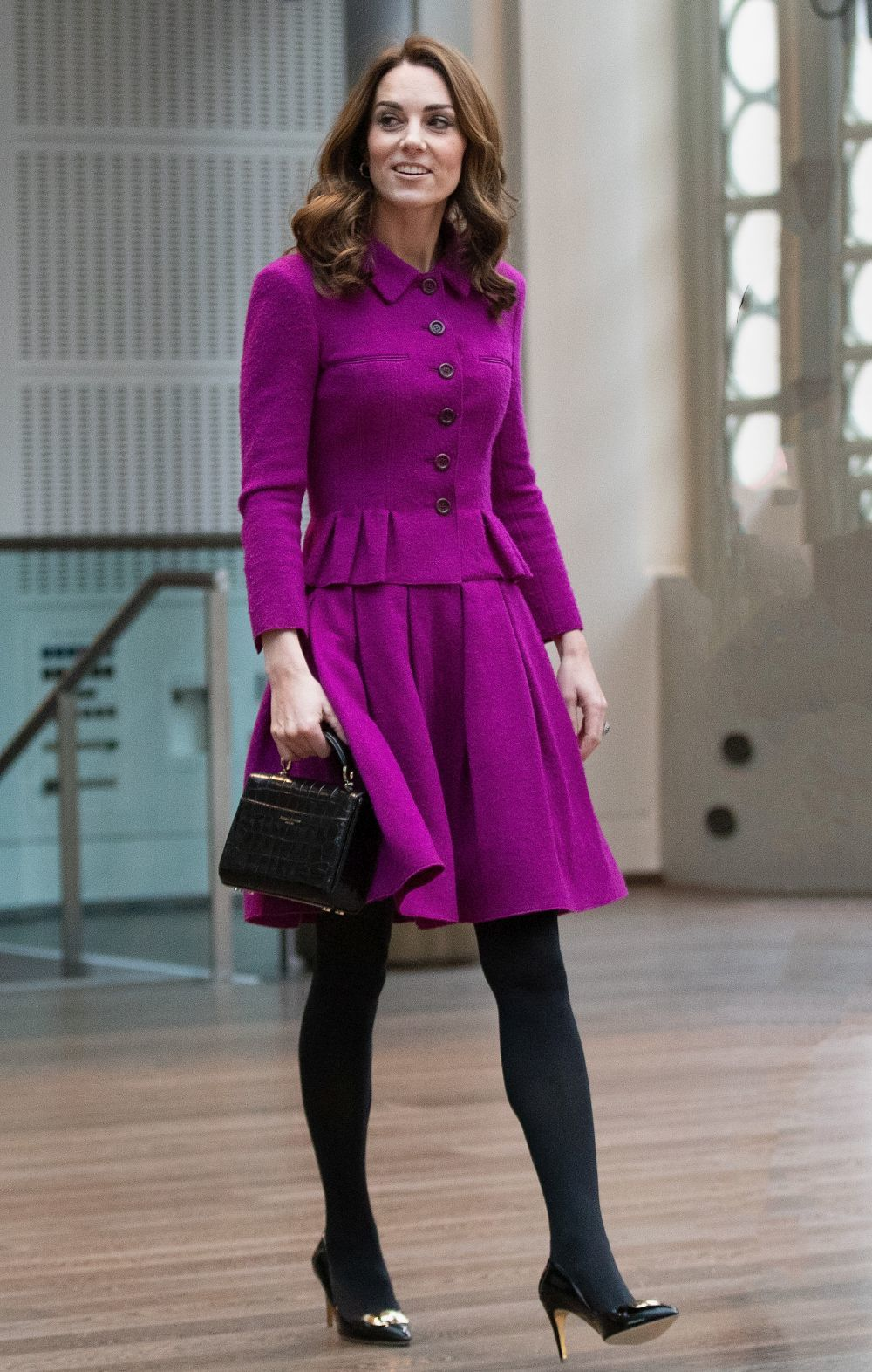 Kate Middleton de Oscar de la Renta.