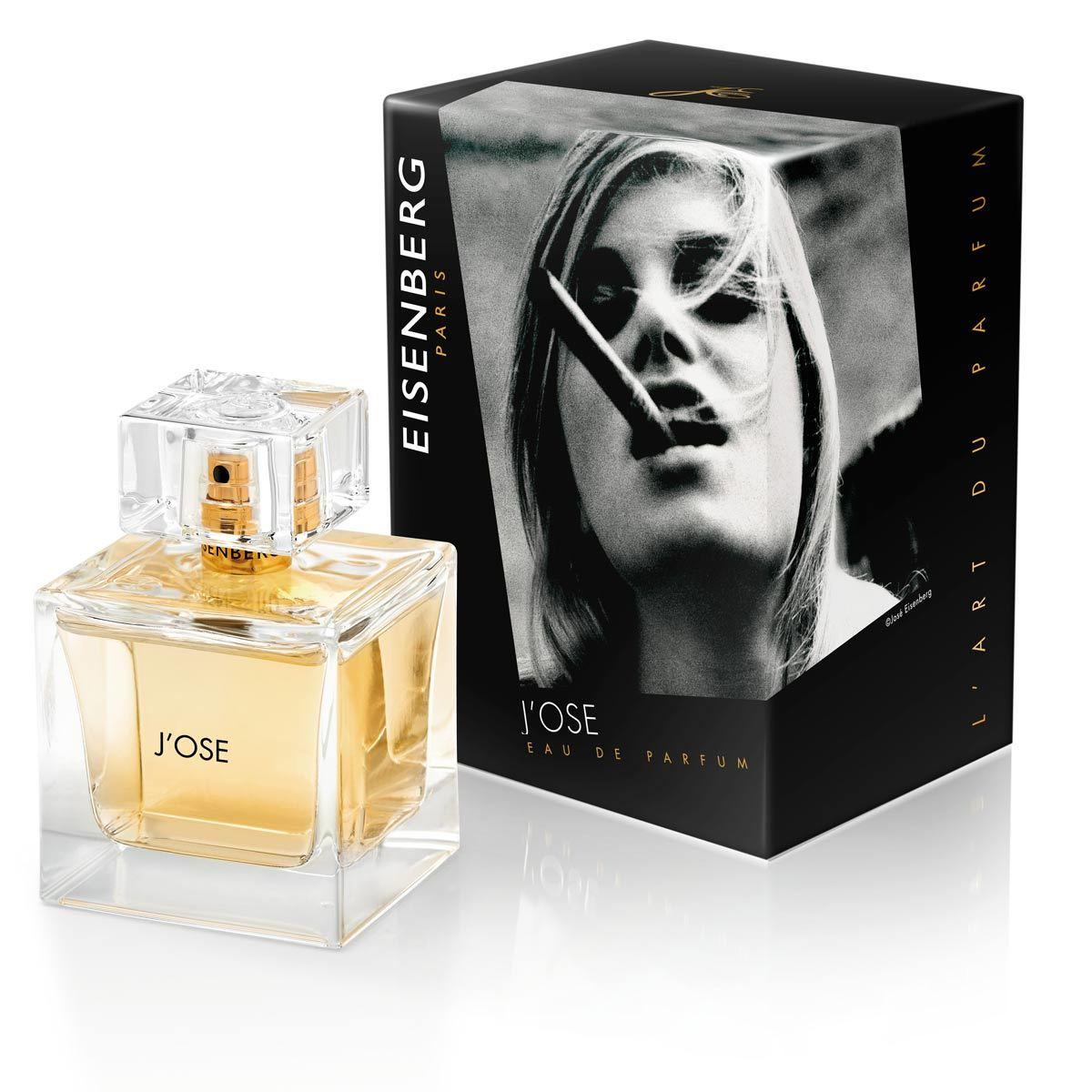Eau de Parfum J'Ose, de Eisenberg (85 euros, 50 ml).