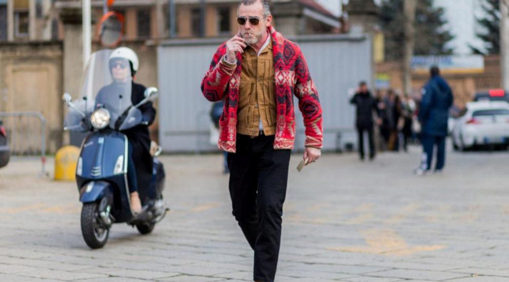 Alessandro Squarzi, el que dicen es el hombre más elegante del mundo.