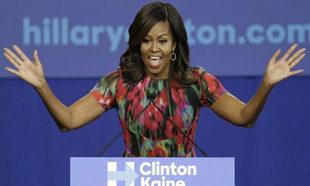 Michelle Obama presume de una piel increíble a sus 55 años.
