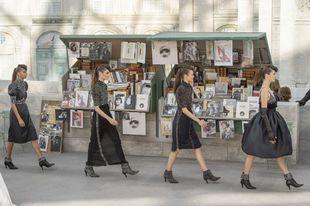 Desfile de Chanel Alta Costura Otoño Invierno 2018/19.