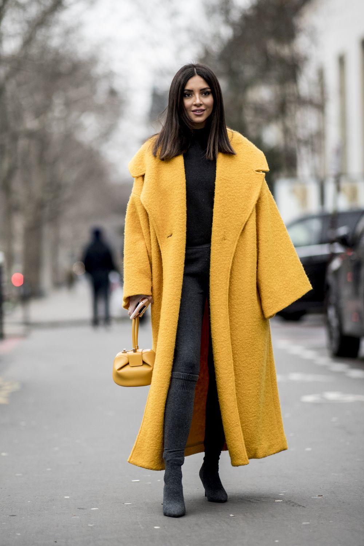 Una insider con un abrigo XL.