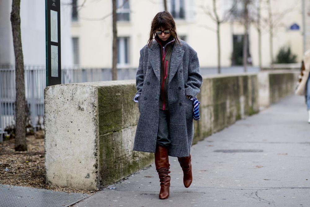 Los abrigos de estilo masculino son uno de los favoritos de las...