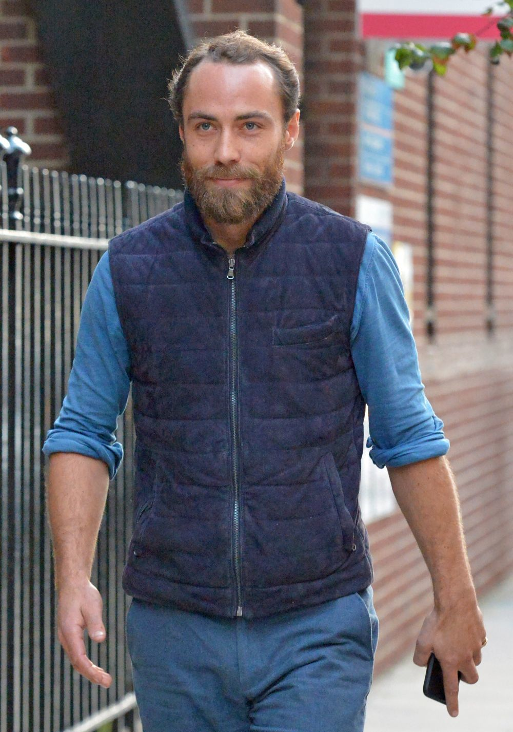 James Middleton, el hermano menor de Kate y Pippa.