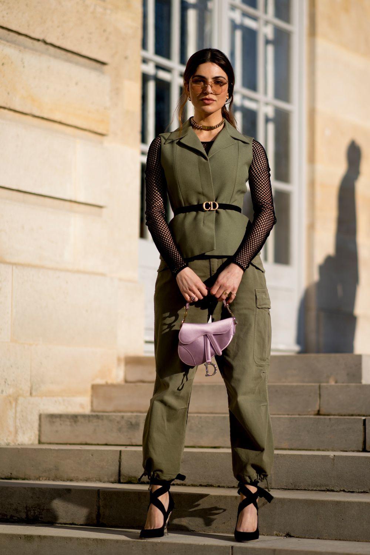 Negin Mirsalehi con total look de Dior