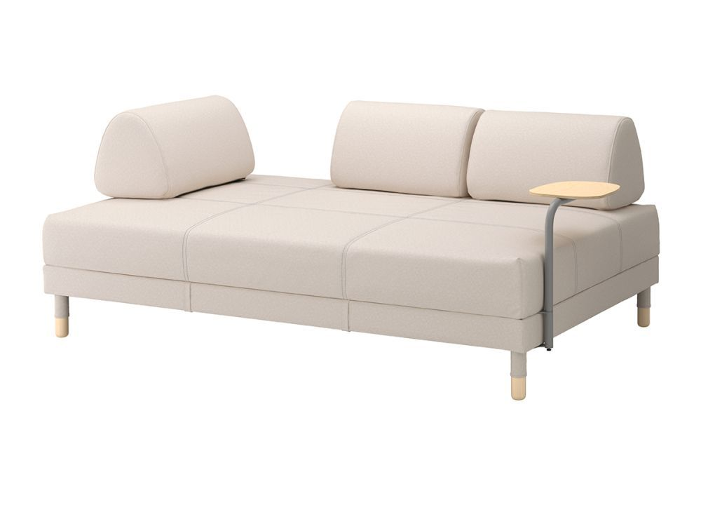 Con solo retirar los cojines, el sofá Flottebo de...