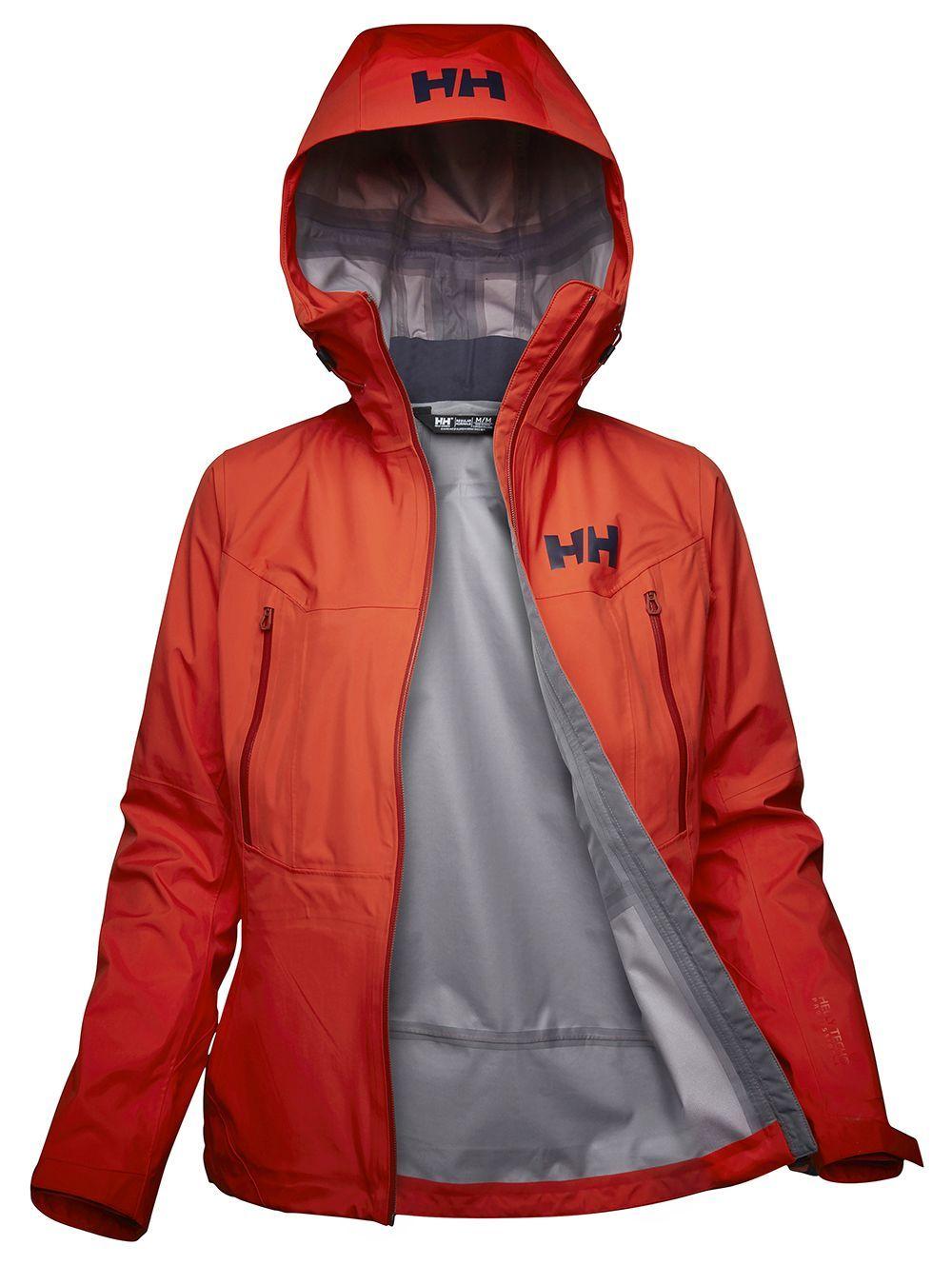 La chaqueta  Verglas 3L Jacket de Helly Hansen aisla completamente...