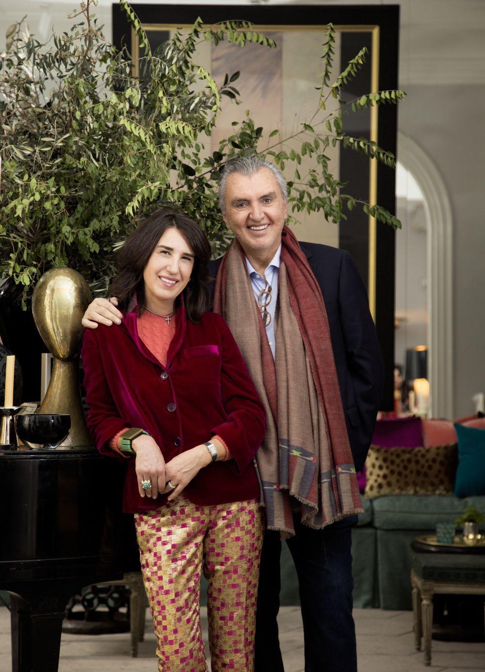 Manolo March y su mujer