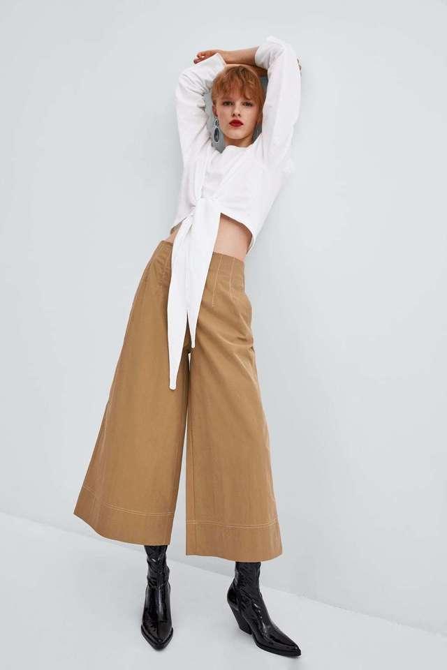 pantalones pappe bag zara
