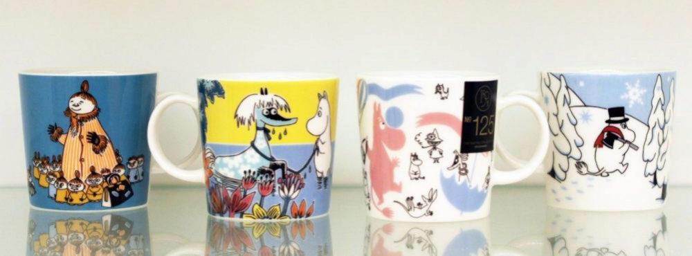 Tazas con Moomin