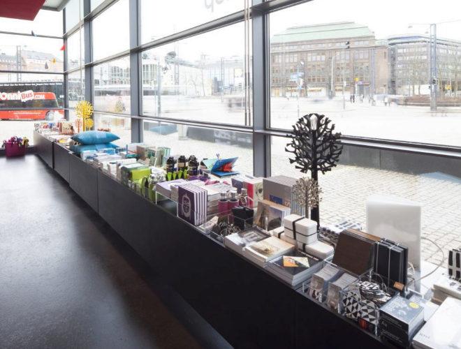 El Kiasma, el Museo de Arte Contemporáneo de Helsinki.
