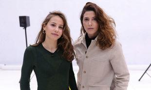 Las actrices Irene Escolar y Bárbara Lennie sobre las tablas de El...