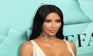 Kim Kardashian, sin flequillo, en un evento de Tiffany en Nueva York...