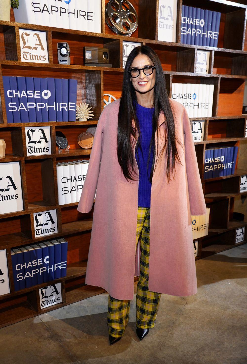Demi Moore en el festival de cine Sundance