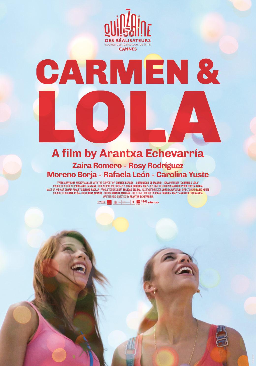 Carmen y Lola, nominada a Mejor Película en los Goya 2019.