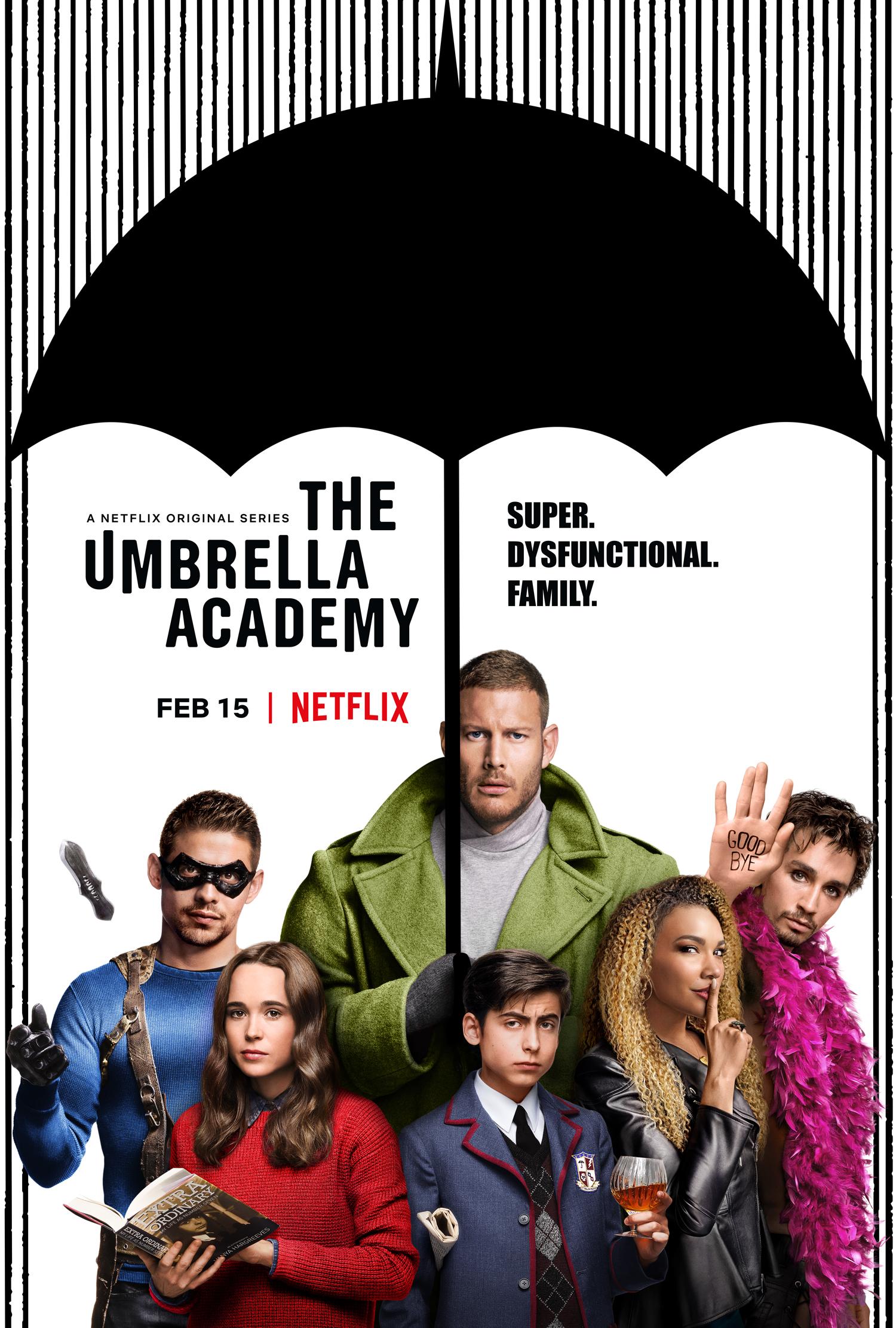 The Umbrella Academy, en Netflix.