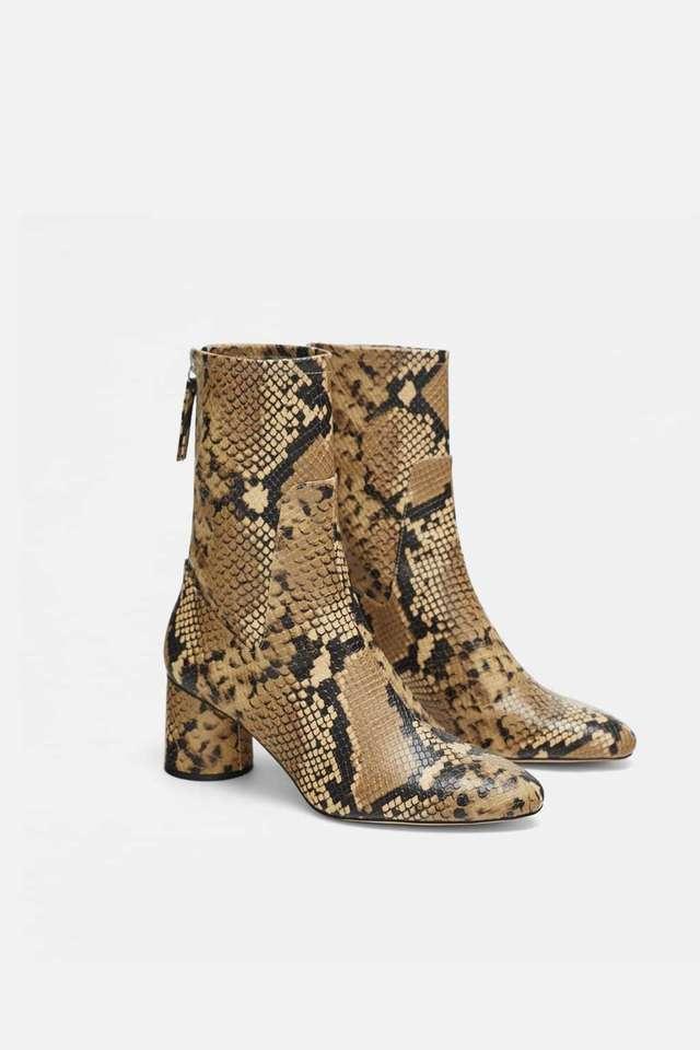 ofrecer descuentos exuberante en diseño personalizadas Botines de pitón, de Zara | Rebajas de Zara 2019: última...
