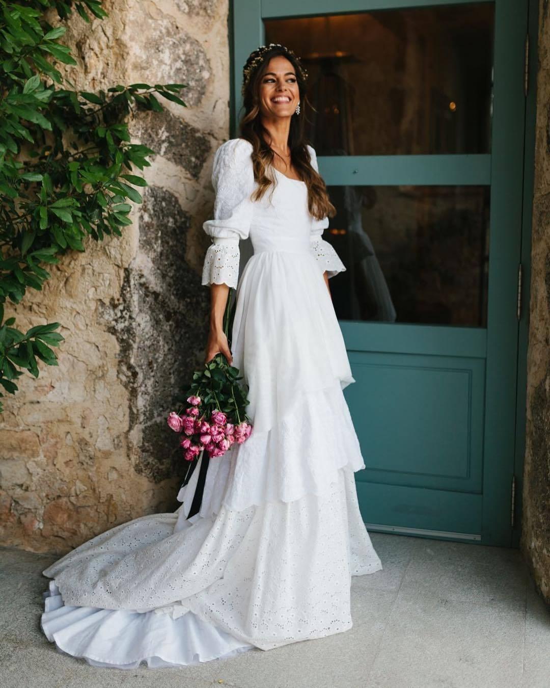Lara, una de las chicas de La Petite Mafalda, el día de su boda.