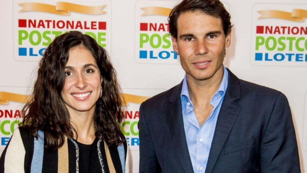 Rafael Nadal y María Francisca Perelló, más conocida como Xisca.