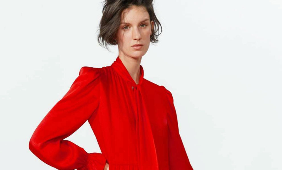09bcd00fc Por qué este vestido de Zara se agotó (en todas las tallas) nada más ...