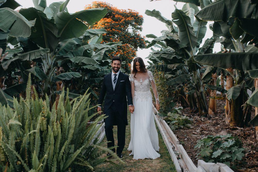María y Adrián se conocieron en el Colegio Mayor durante su época...