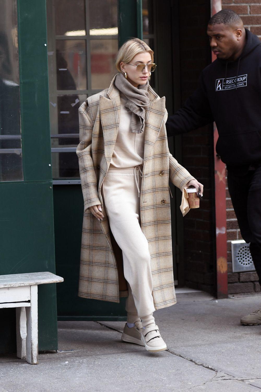 La modelo Hailey Baldwin en Nueva York