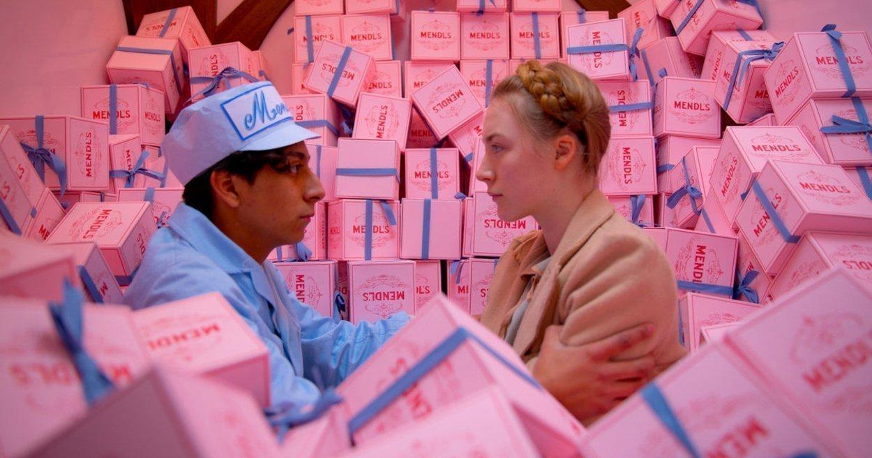 """Fotograma de la película """"El Gran Hotel Budapest"""", de Wes Anderson."""