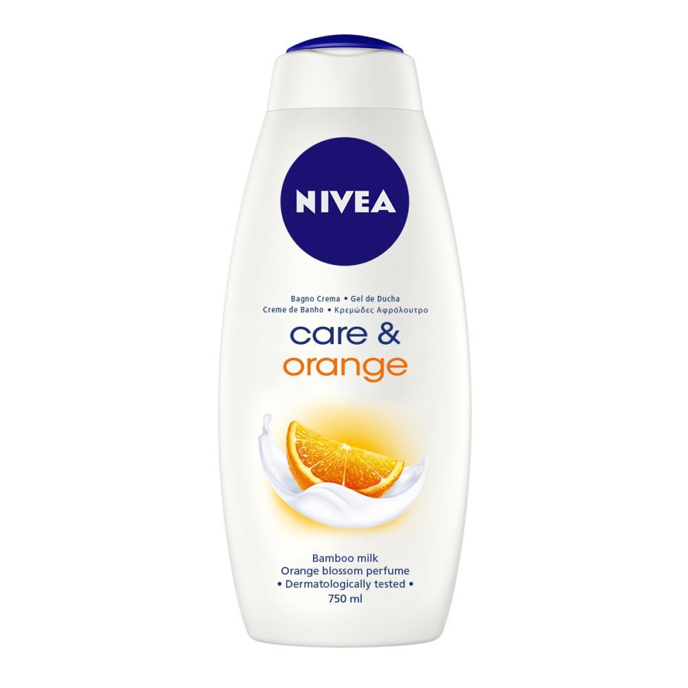 Gel de ducha Care & Orange, Nivea (2,90 euros).