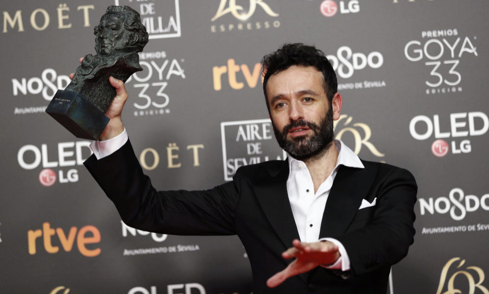 Rodrigo Sorogoyen recoge el Premio Goya 2019 a la Mejor Dirección por...