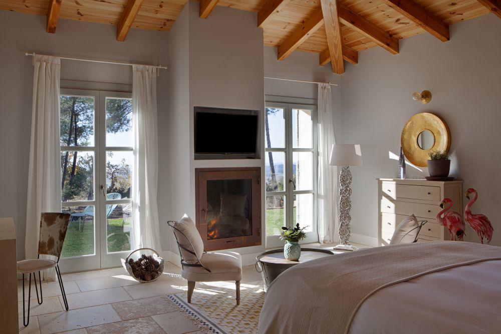 Una de las habitaciones con vistas