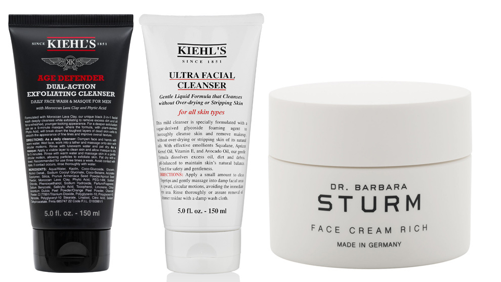 Dual Action Exofliating Cleanser; Ultra Facial Cleanser, ambos de...