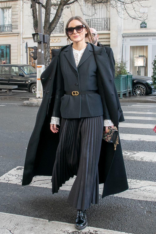 Olivia Palermo en París.