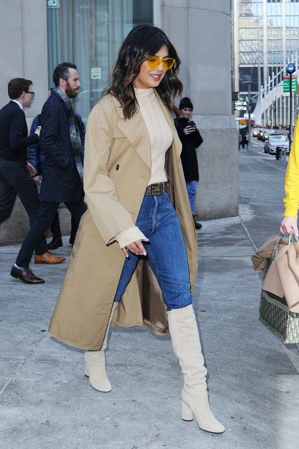 Priyanka Chopra paseando en Nueva York