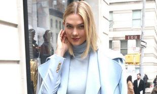 Karlie Kloss en la semana de la moda de Nueva York