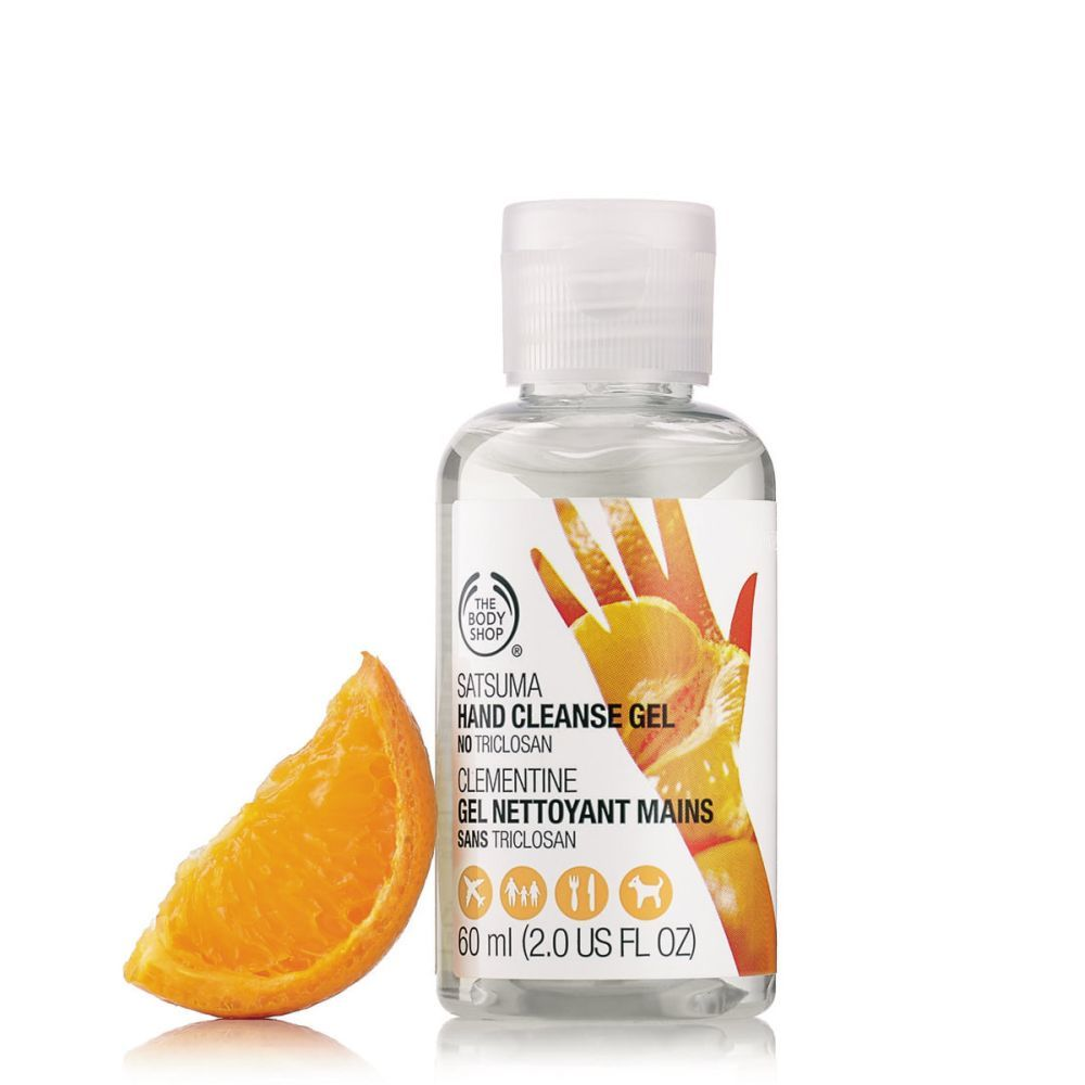 Gel purificante para manos de mandarina, The Body Shop.