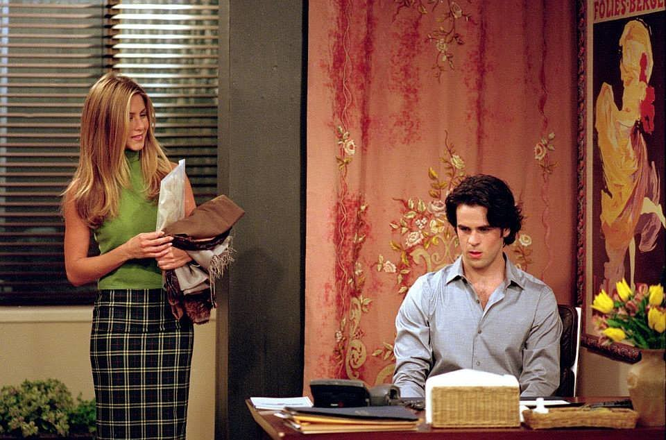 Un momento de la serie Friends.