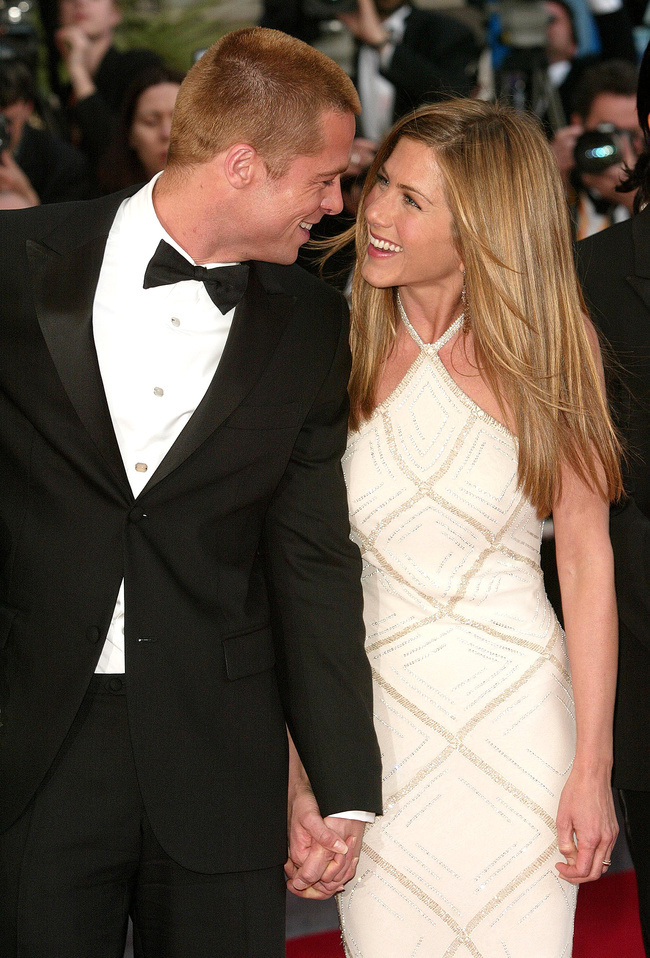 Brad Pitt y Jennifer Aniston.