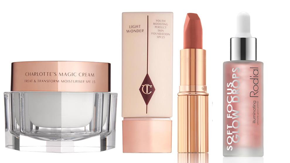 Magic Cream SPF 15; Iluminador Light Wonder y barra de labios...