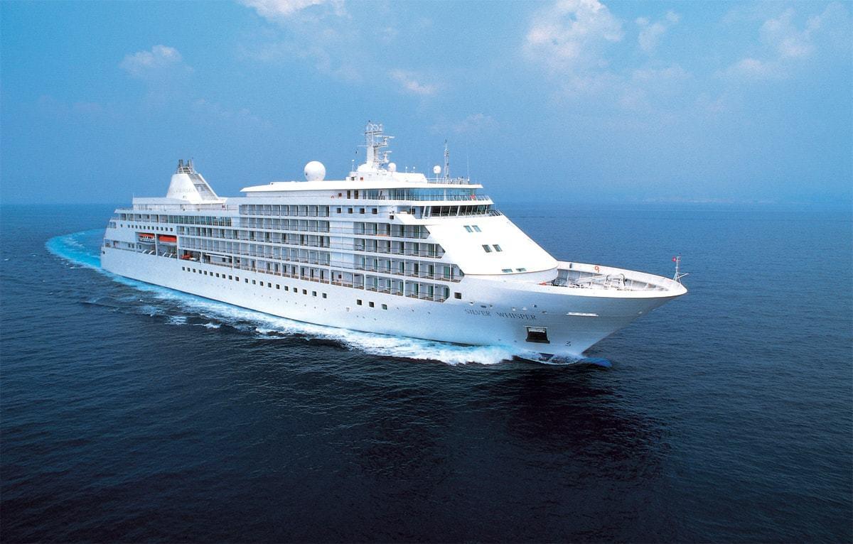 El crucero Silver Whisper