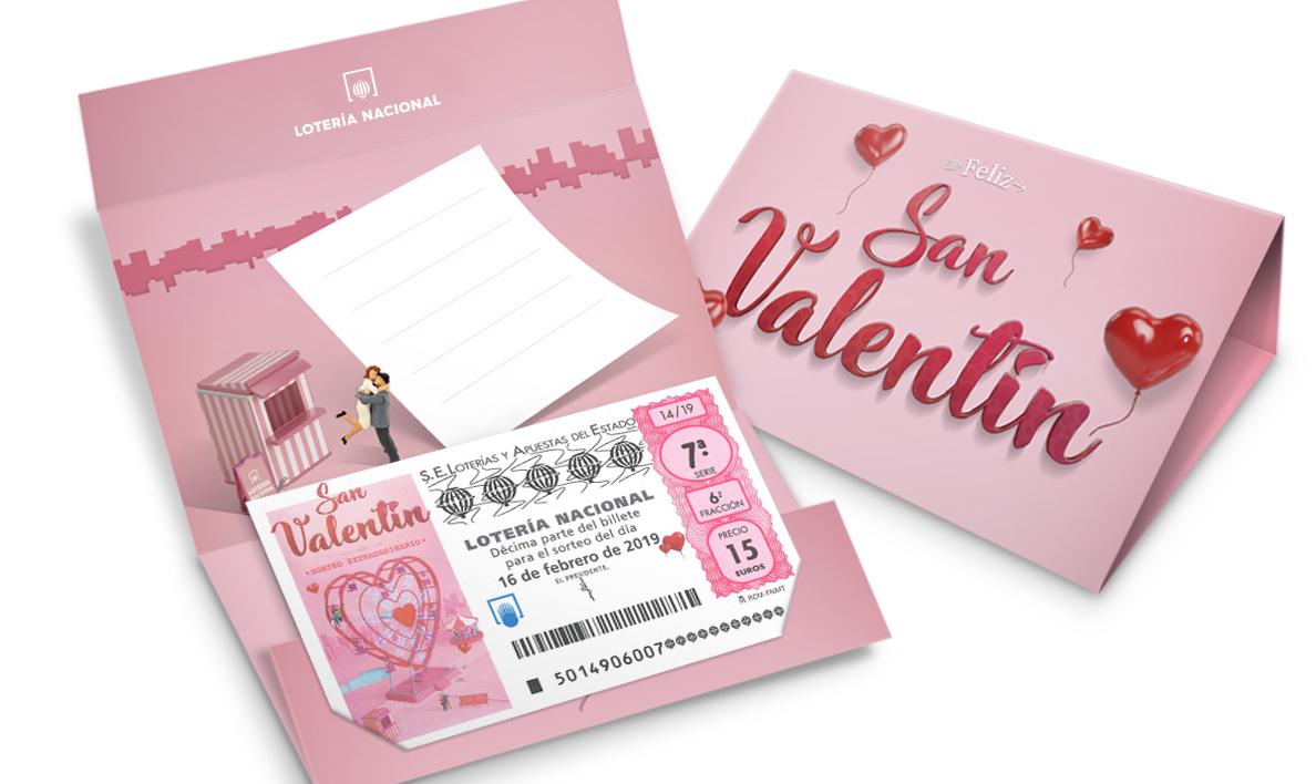 El Sorteo de San Valentín de Lotería Nacional
