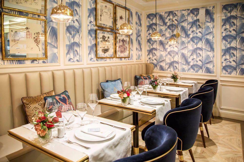 El restaurante francés Antoinette está en pleno centro de Madrid.