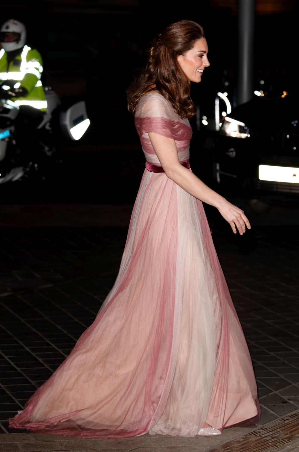 Kate Middleton vestida de Gucci.